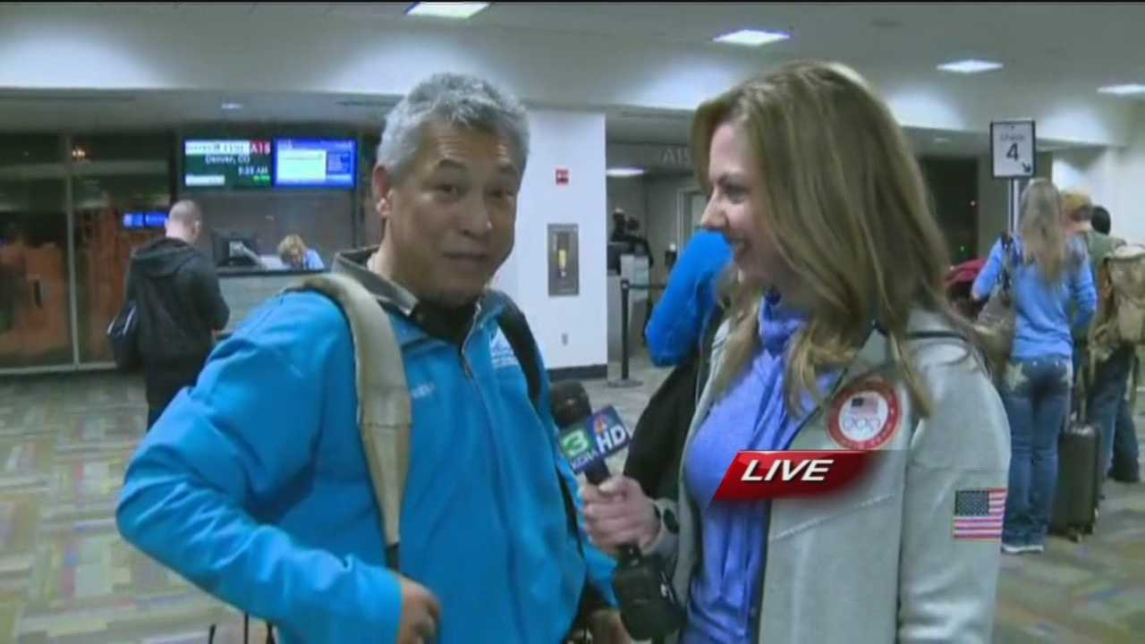 Deirdre Fitzpatrick and Mike Domalaog are on their way to Sochi to provide coverage of the Winter Olympics for KCRA.