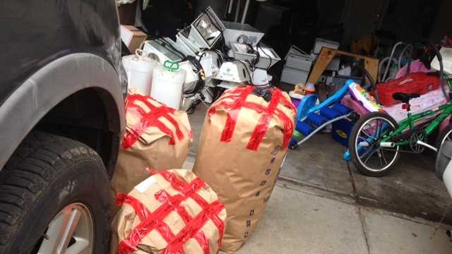 Authorities said more seizures and arrests could result from Wednesday's raids.