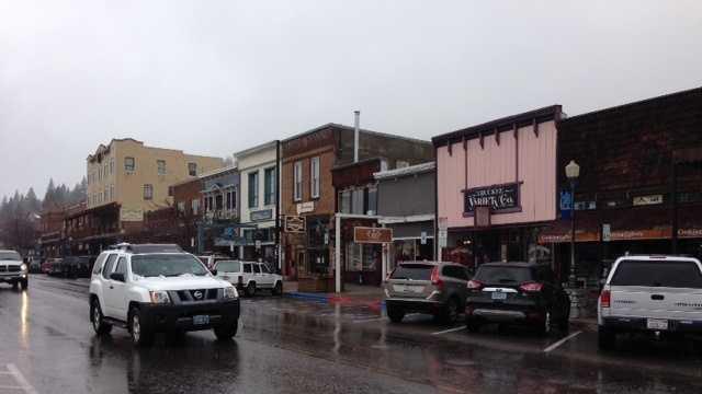 Truckee rain