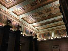 The 1920s-era California State Library held a ribbon-cutting event Tuesday to celebrate its reopening.