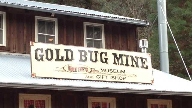 Gold bug mine museum and gift shop