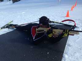 Taking a behind-the-scenes look at the sport of biathlon (Feb. 13, 2014).