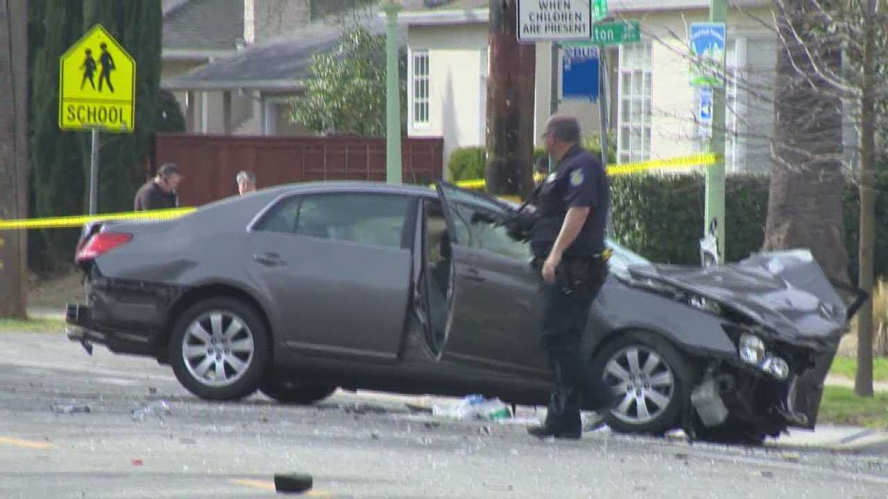One of the victims involved in a crash between a Mercedes-Benz and a Toyota Avalon has died, according to the Sacramento Police Department.