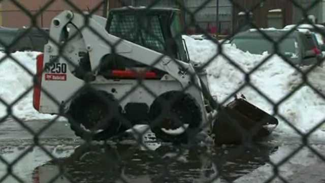 Pregnant woman killed by snow plow