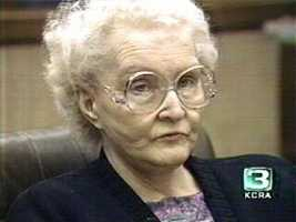 Dorthea Puente ran a boarding house during the 1980s in Sacramento for elderly and mentally disabled people where she would cash her tenants' social security checks. She was accused in the death of nine people, but was given two life sentences for the murder of only three. Puente was kept at the Central California Women's Facility in Chowchilla, Calif., where she died in 2011 of natural causes.