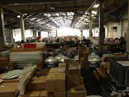More items up for auction at the former Campbell's Soup Plant.
