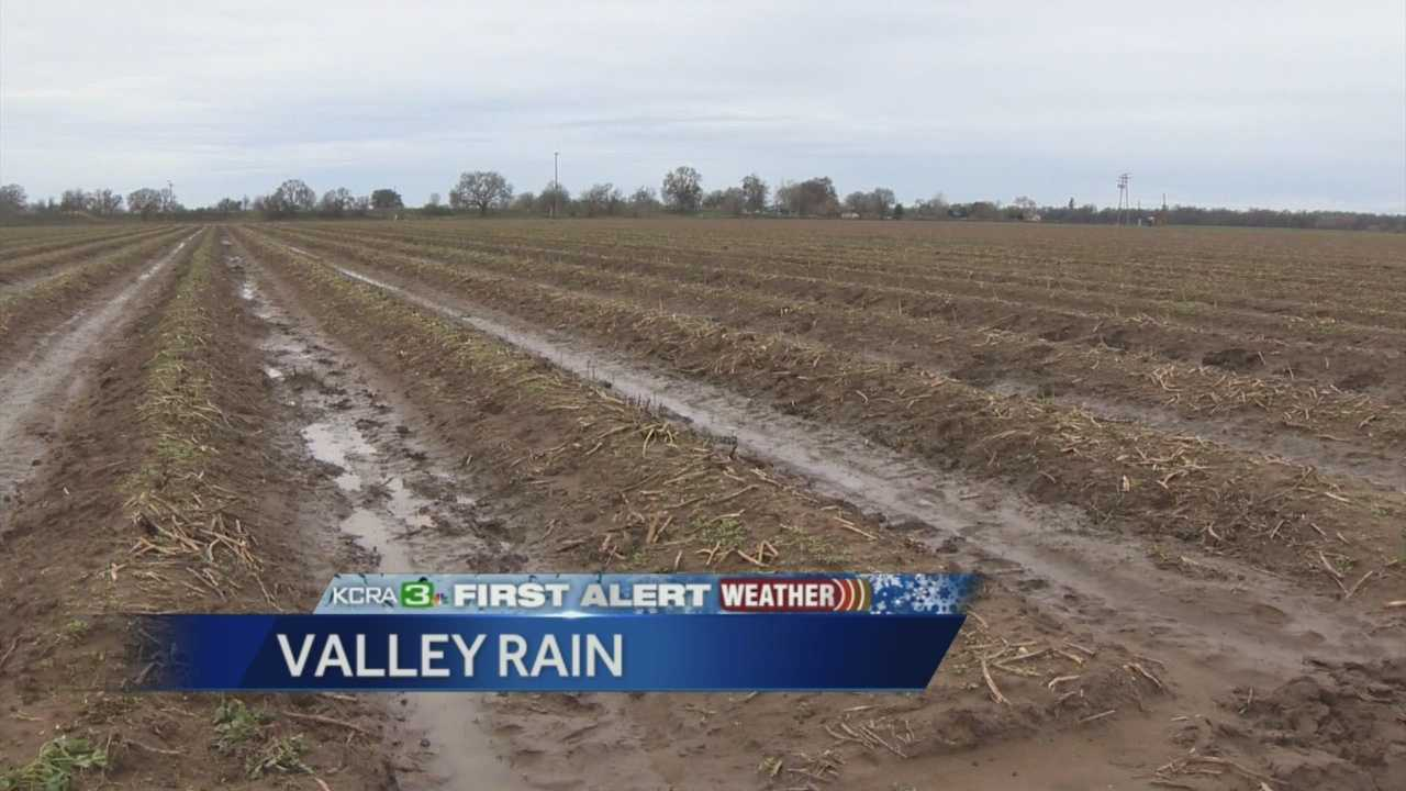 Spring rains, though badly needed, are causing problems for some farmers.