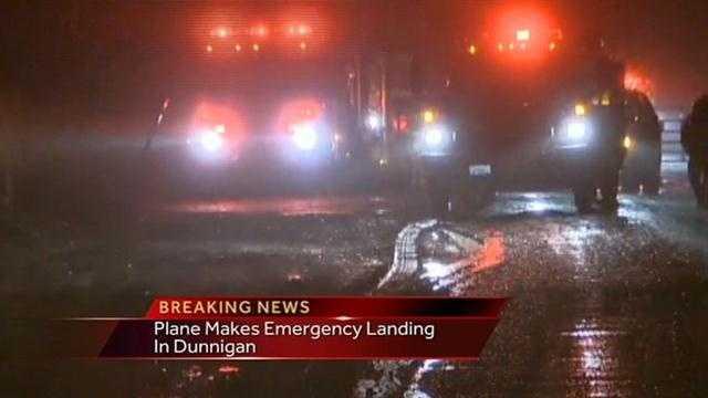 Dunnigan plane down