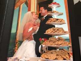 23.) Did I mention the chocolate chip cookies? Seriously, I love them so much that instead of a wedding cake, we had a chocolate chip cookie tree.