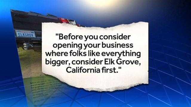Elk Grove business
