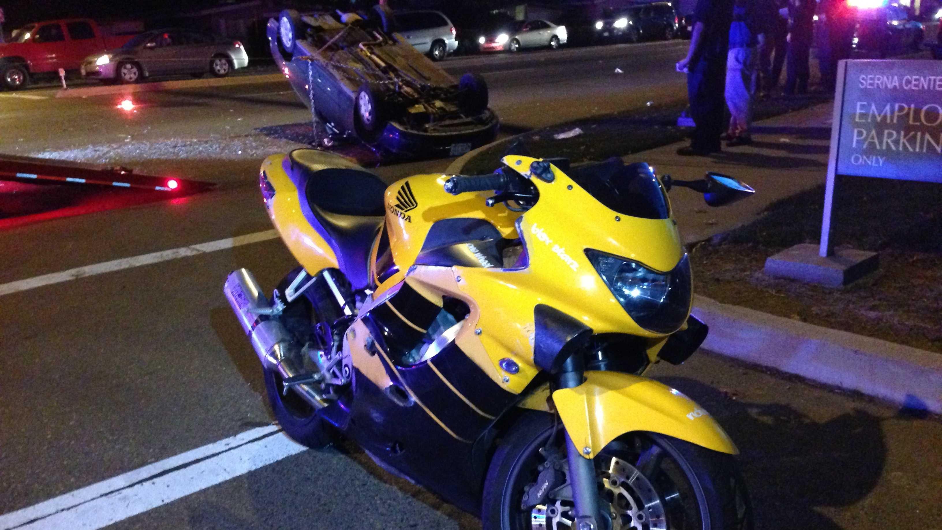 Sacramento motorcycle crash