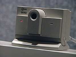 The appearance of webcams led to teleconferencing and telecommuting.