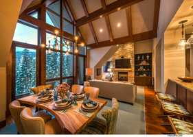 The homes feature catering kitchens perfect for entertaining.