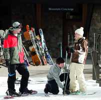Owners have access to special ski valet services at Lake Tahoe.