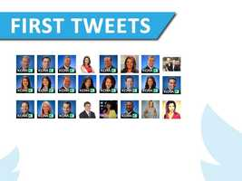 Check out these first tweets from the KCRA 3 news team as Twitter commemorates its eighth anniversary. And then, check out some tweets from famous celebrities.