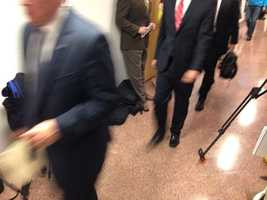 Meanwhile in Sacramento, two agents re-enter Yee's office at Capitol.