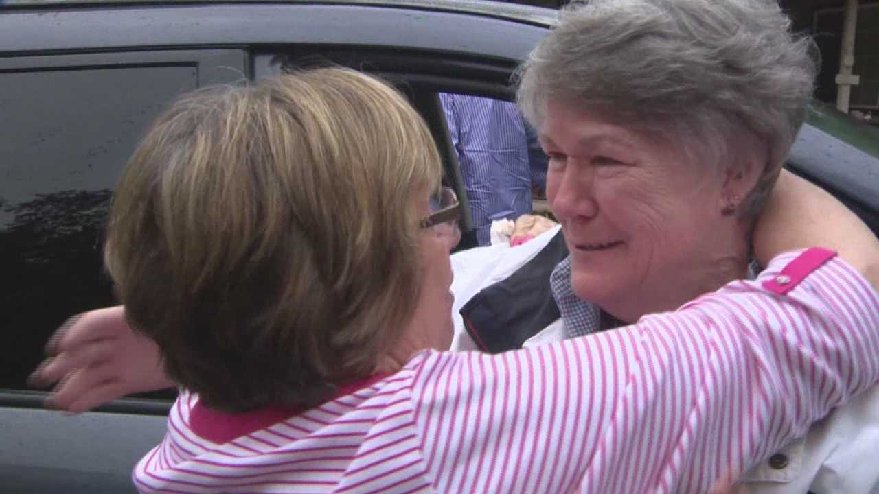 Karen Simpton, of Auburn, allowed KCRA 3 to come along as she reconnected with her sister, Anne, after 66 years. Anne flew to Northern California this month for a long-overdue reunion. As girls in 1948, Karen and Anne were abandoned by their parents -- along with three other siblngs -- at an orphanage in Portland. After all this time, the sisters made contact through Internet searches and Facebook.