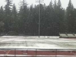 Snowfall in Colfax