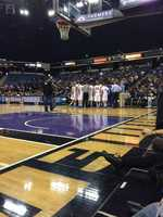 Folsom huddles up during a timeout&#x3B; after a hard-fought stretch, the Bulldogs were defeated by Saint John Bosco 63-54.