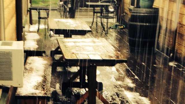 Winters hail