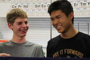 Sophomore Jack Gurev and Junior Daniel Shen are two A-team returners, heading to nationals