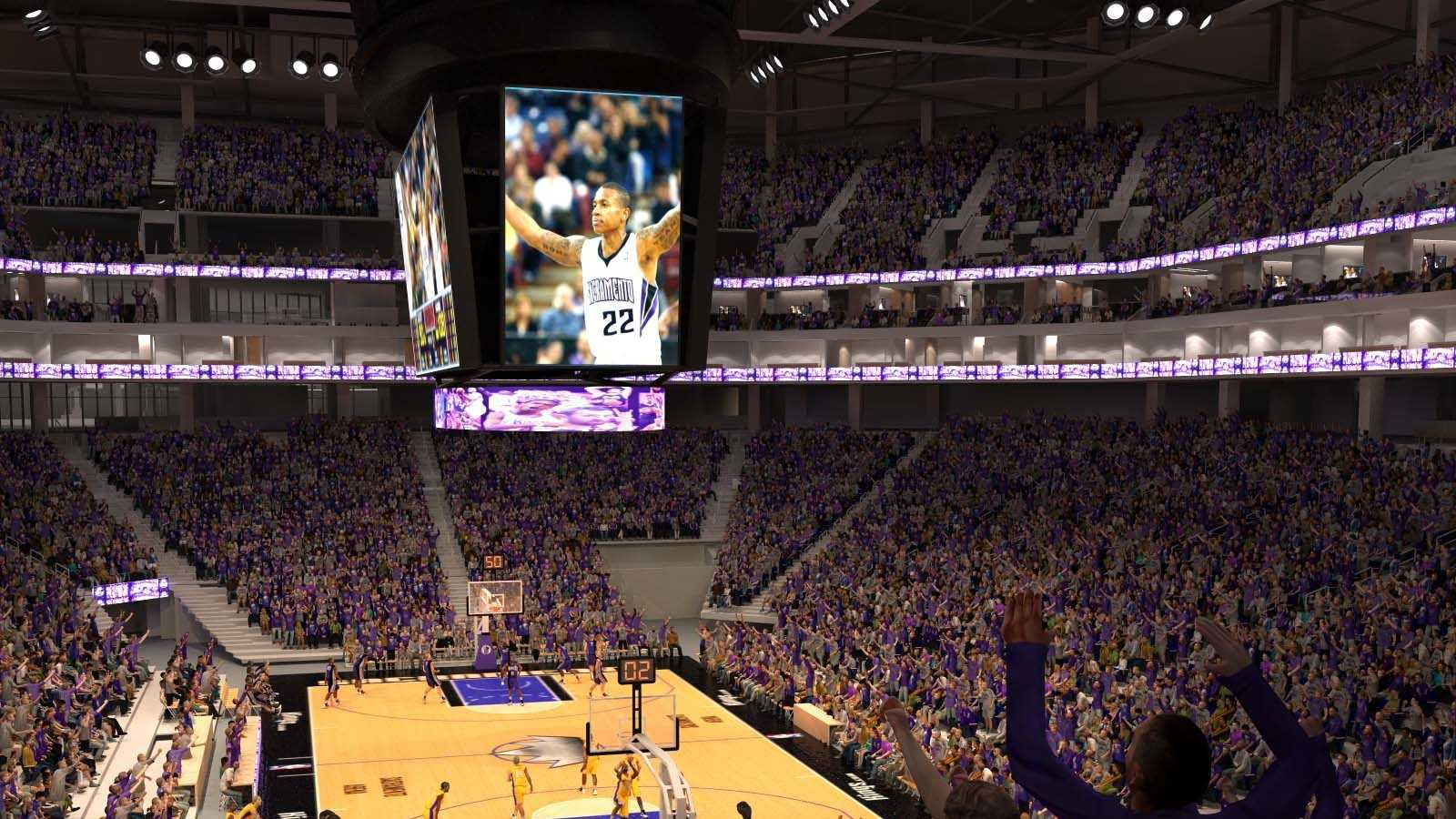 New Sacramento Kings arena rendering