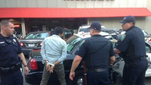 Davis Picnic Day arrest