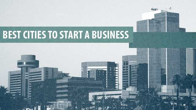 The following 50 cities were named by WalletHub.com as the best places to start a business. See which two California cities made the cut.