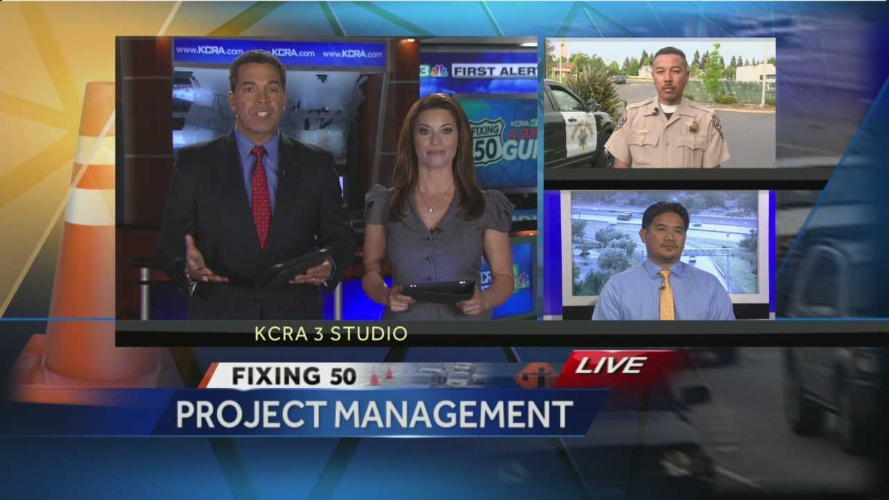 Project management: Caltrans, CHP talk Fix 50
