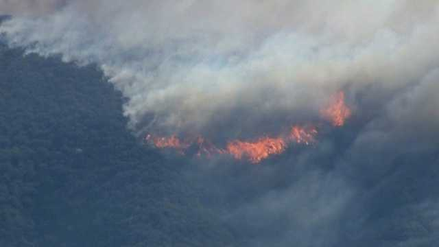 Calif wildfires Rancho Cucamonga