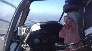 KCRA's Brian Hickey took a flight with veteran stunt pilot Eddie Andreini at Mather Airport in 2012. Andreini was killed while performing Sunday at the Thunder Over Solano air show  at Travis Air Force Base.