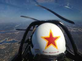 KCRA's Brian Hickey took a flight with veteran stunt pilot Eddie Andreini at Mather Airport in 2012.