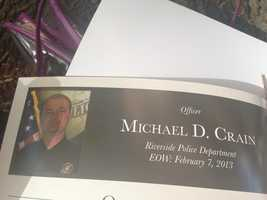 Michael Crain, Riverside PD