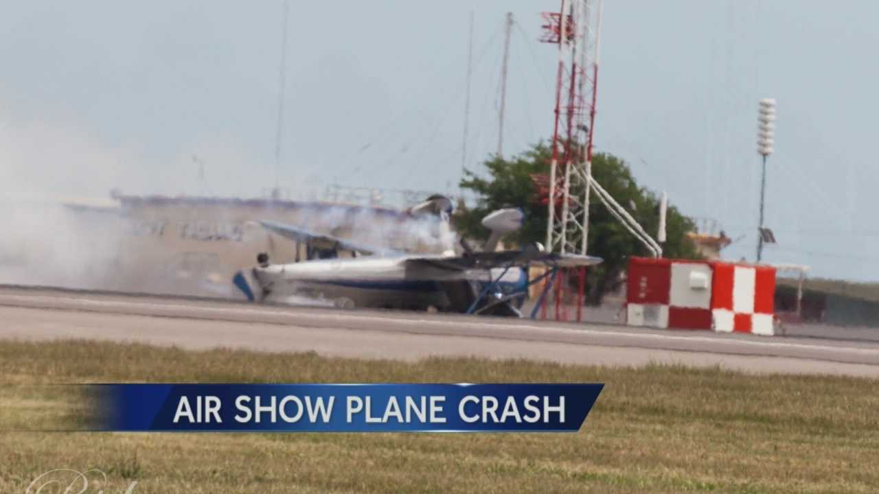 Could new video of the deadly Air Show crash help investigators determine a cause?