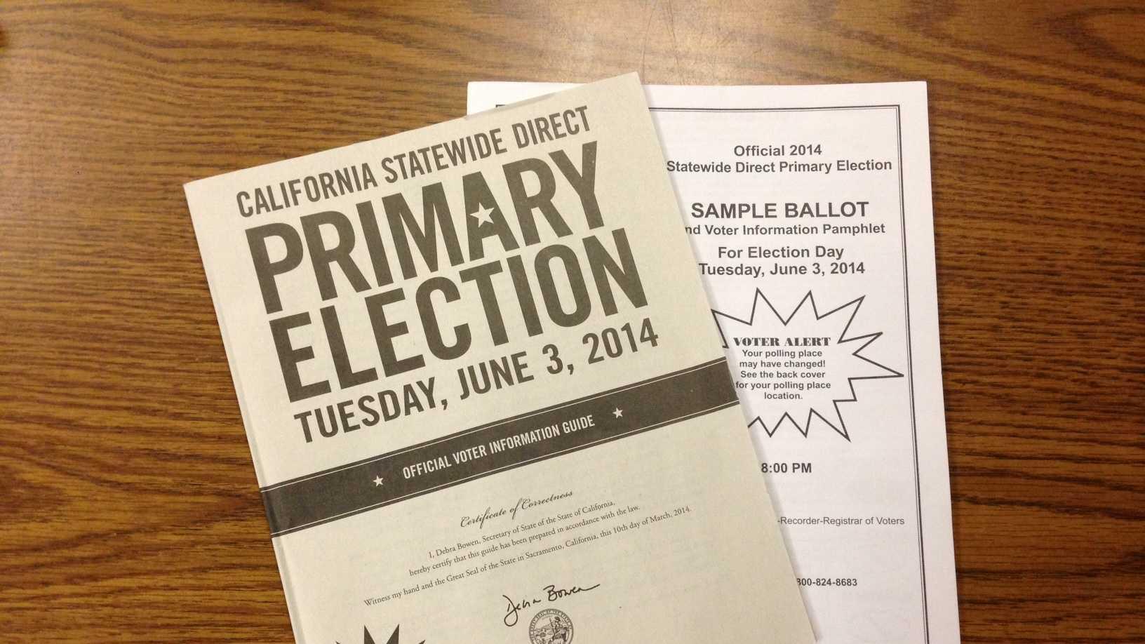 Primary Election Ballot