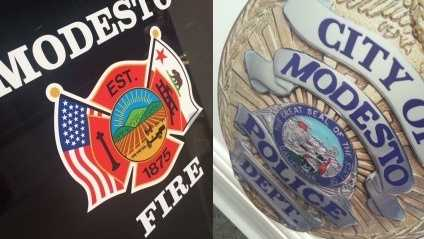 Modesto police, fire