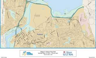 People in the area can expect road closures along Sutter Street, the Rainbow Bridge, Folsom-Auburn Road, Folsom Lake Crossing, East Natoma Street and Green Valley Road on Monday.