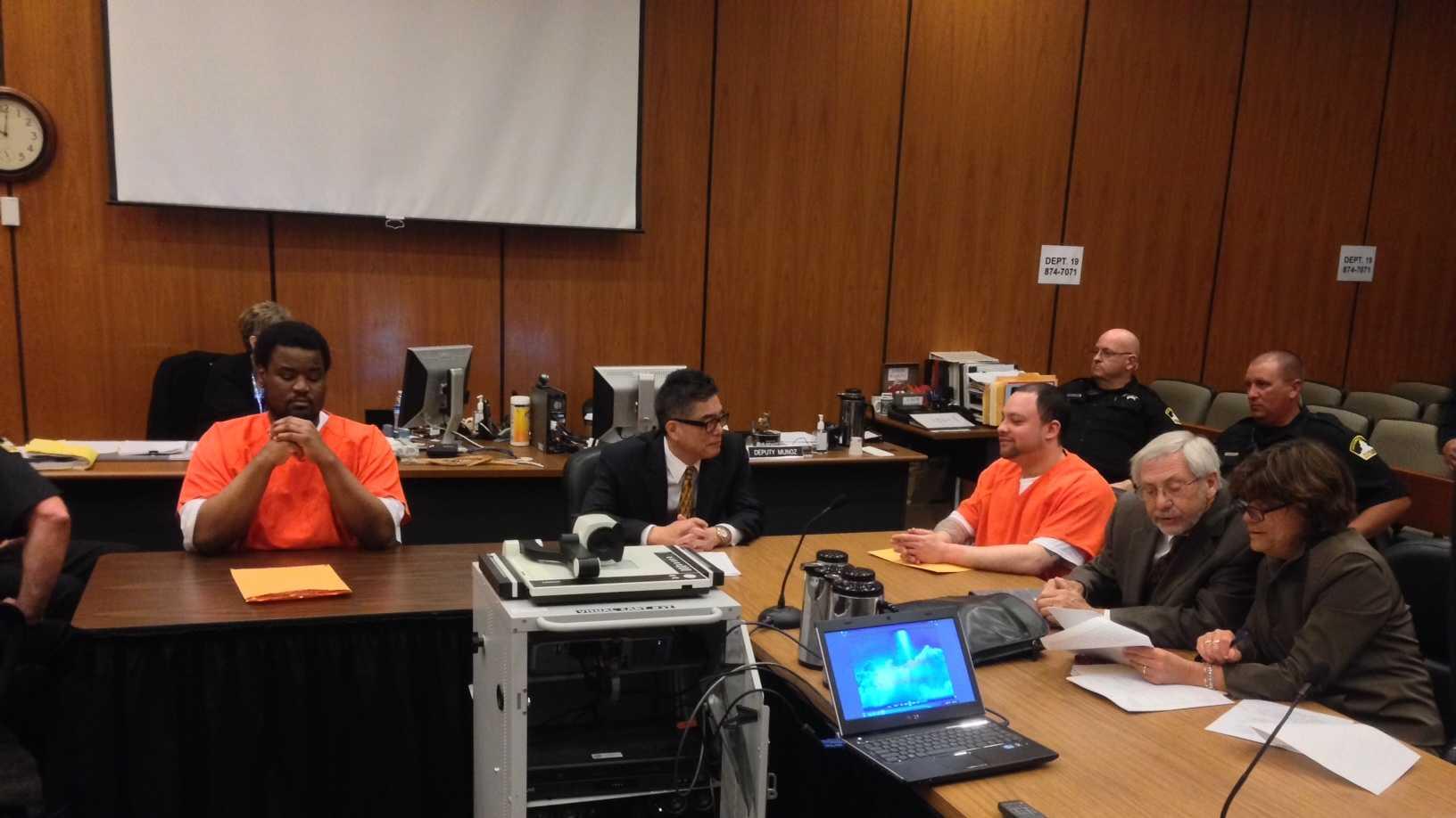 Friday's sentencing (May 9, 2014)