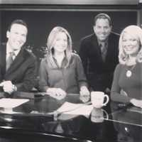 B: From 4:30 to 7 a.m. on KCRA 3, and then 7 to 9 a.m. on KQCA My 58