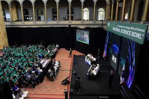The competition is considered one of the most academically prestigious and rigorous in the country, and in the past, its guests have included US Secretaries of Energy and First Lady Michelle Obama.