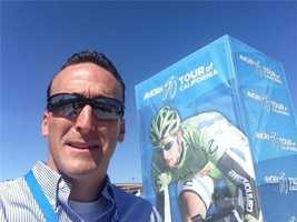 KCRA's Mike TeSelle reporting live from the Amgen Tour of California. (May 12, 2014)