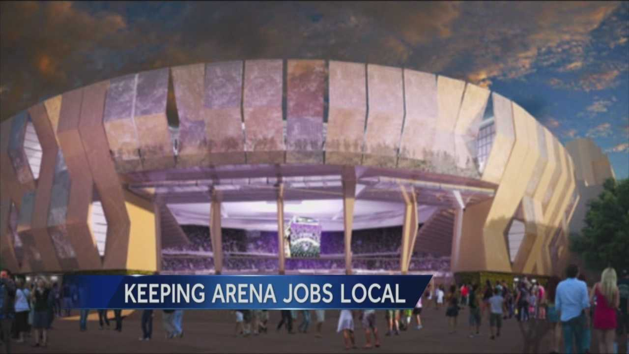When construction begins on the new Downtown Arena a group formed by the mayor will oversee who gets those construction jobs.
