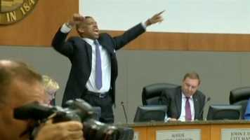 The voteMay 20, 2014 --Sacramento Mayor Kevin Johnson led the City Council in approving a $477 million arena for the Kings NBA franchise late Tuesday and immediately hailed the project as the city's finest hour.