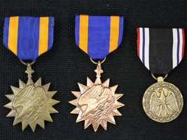 These two Air Medals and Prisoner of War medal are among the unclaimed property being held by the California State Controller's Office. Read more about how to claim unclaimed property: http://www.sco.ca.gov/upd_contact.html