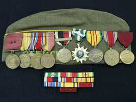 This Veterans of Foreign Wars hat and ribbon mount are among the unclaimed property being held by the California State Controller's Office. Read more about how to claim unclaimed property: http://www.sco.ca.gov/upd_contact.html