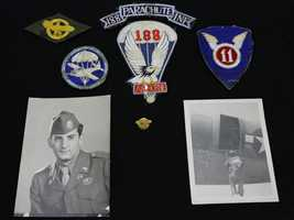 These photos, patches and pin are among the unclaimed property being held by the California State Controller's Office. Read more about how to claim unclaimed property: http://www.sco.ca.gov/upd_contact.html