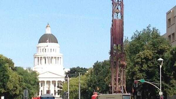 Capitol drilling