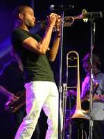 """Troy """"Trombone Shorty"""" Andrews performs at the Sacramento Music Festival and Jubilee on May 23."""