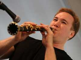 Dave Bennett performs with his band, The Memphis Boys, at the Sacramento Music Festival and Jubilee on May 24.