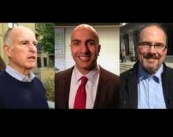Governor --Incumbent, Gov. Jerry Brown is expected to easily take the top spot in Tuesday's primary, but who will be his challenger come November. Republicans Tim Donnelly and Neel Kashkari were neck-and-neck in recent polling for the No. 2 spot.